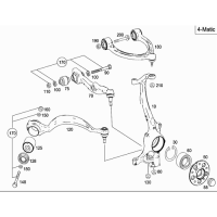 Mercedes benz 2213331914 bearing