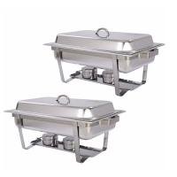 Gn rectangular chafing dish 11   51135555