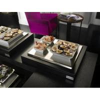 Refrigerated display case with 3 porcelain bowls 512703a3