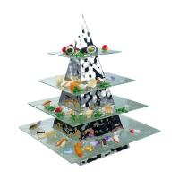 Pyramid Buffet Stand 350x350x800mm+ZBF-032-4