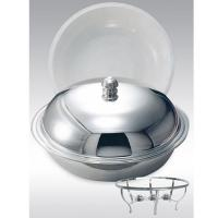 C 0735 / chafing dish with candles
