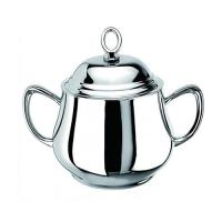 Oval sugar bowl with cover em-sbc25