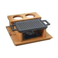 Hot Plate Ve And Wooden Service Stand LV ECO HP 2230T13K44
