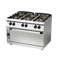 6-burner gas range  96/10cggfl