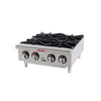 Table top 4 range gas cooker