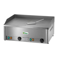 ELECTRIC GRILL With GROVE PLATE