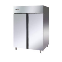 STAINLESS STEEL 2 DOOR FREEZER