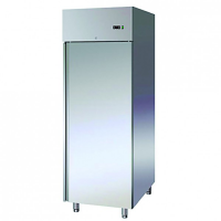 Stainless steel single door refrigerator