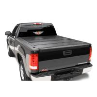 STANDARD STRAIGHT BED HARD FOLDING TONNEAU COVER 72101