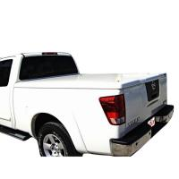 NISSAN TITAN STD BED FANCY STRAIGHT DESIGN FIBERGLASS TONNEAU COVER	FCNT65041