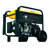 Subaru Robin RGH7500 Commercial Gasoline Engine Powered Portable Generator