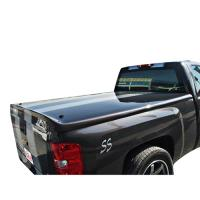 SIERRA LONG BED FANCY STRAIGHT DESIGN FIBERGLASS TONNEAU COVER  FCSI258071SS