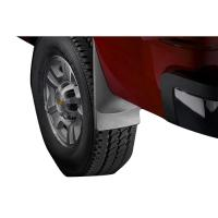 07-13 SILVERADO WEATHERTECH DIGITALFIT NO-DRILL MUD FLAPS, REAR 120010