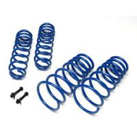 05-13 MUSTANG GROUND FORCE LOWERING COIL SPRINGS BLUE FRONT 1.3