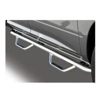 07-16 tundra ext cab go rhino cab-length dominator ii nerf bar , chrome 	d24415ps