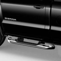 2014+ SIR/SIL REGULAR CAB GM ASSIST STEPS, 4 INCH ROUND, CHROME GM22805432