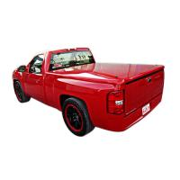 SILVERADO SHORT BED FANCY STRAIGHT DESIGN FIBERGLASS TONNEAU COVER  FCSL1558071