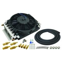 DERALE 16 PASS ELECTRA-COOL REMOTE TRANSMISSION COOLER KIT ( 6AN INLETS)  13900