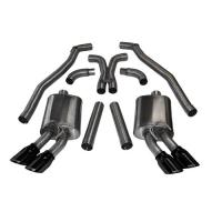 12-14 CAMARO ZL1 6.2L V8 CORSA SPORT CAT-BACK EXHAUST,TWIN DUAL REAR EXIT,BLACK 14971BLK