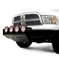 REPLACEMENT FRONT BUMPER WITH SKID PLATE TEXTURED BLACK D094RSP