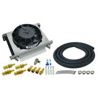 DERALE 25 ROW HYPER-COOL REMOTE TRANSMISSION COOLER KIT ( 6 AN ) 	13960