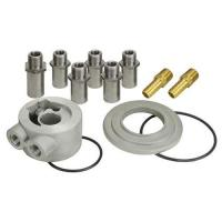 DERALE UNIVERSAL THERMOSTATIC SANDWICH ADAPTER KIT WITH 3/8