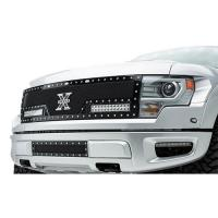 10-14 F150 RAPTOR X-METAL TORCH SERIES LED LIGHT GRILLE,BLACK 6315661
