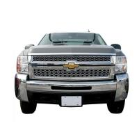 07-10 SILVERADO 2500/3500 HD ABS CHROME OVERLAY INSERT GRILLE IWCGI46