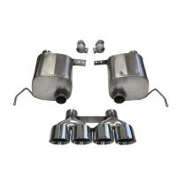 CORVETTE CORSA XTREME VALVE-BACK EXHAUST 14762