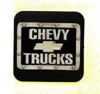 VALLEY TOWING PRODUCTS RECEIVER HITCH COVER CHEVY TRUCKS LOGO 53342