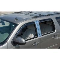 07-13 GM TRUCKS/SUVS CREW CAB PUTCO DECORATIVE PILLAR POSTS CHROME (WITH ACCENT) 402518