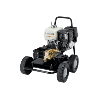 Pressure washer cold water fuel operated thermic 11h
