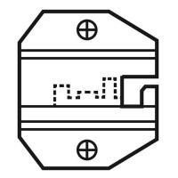 Die Set For 8P/RJ45 Keyed Modular Plugs (Excluding AMP) 1PK-3003D11