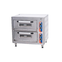 Oven for pizza double electric