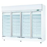 4DOORS UPRIGHT SHOWCASE CHILLER