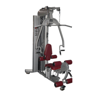 Strength equipments fm – 3001 – 1 – station multi home gym