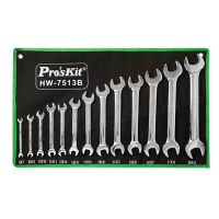 Double Open End Wrench HW-7513B