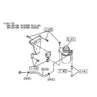 OEM Isuzu 0-01262300-0 Fuel pump hose