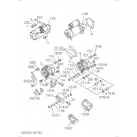 OEM Isuzu 0-28051035-0 Bolt, Bracket