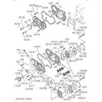 Isuzu 0-28080612-0 bolt check hole cover