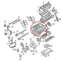 OEM Nissan 11000-ZV00A Cylinder Block