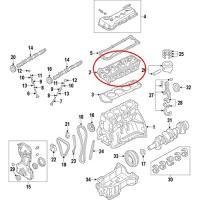 OEM Nissan 11040-MA00A Cylinder Head