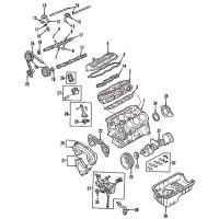 OEM Nissan 11044-0W000 Cylinder Head Gasket_3