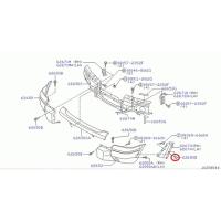 Nissan 01241-00173 nut spring