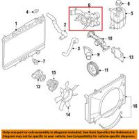 Nissan 11061-7S000 Thermostat Housing