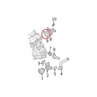 Nissan 11062-EA00A Water Outlet Gasket_3