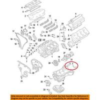Nissan 11121-31u00 oil pan gasket