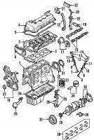 Nissan 13207-53Y00 VALVE SEALS_3