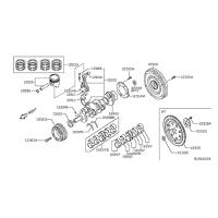 Nissan 12035-EA00B Piston Ring Set
