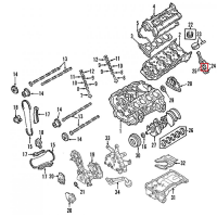 Nissan 12111-7S010 Connecting Rod Bearing